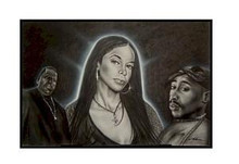 Hip Hop Legends Art Print - Fred Mathews
