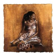 Ebony II Art Print - Ben Mogador 2045