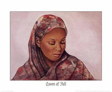 Queen of Fall Art Print - Marcella Hayes Muhammad