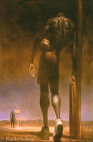 David and Goliathe Limited Edition Art Print - Kadir Nelson