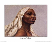 Queen of Winter Art Print - Marcella Hayes Muhammad