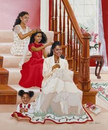 Delta Legacy Art Print - Katherine Roundtree