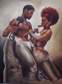 Made 4 Each Other Art Print - Kevin A. Williams WAK