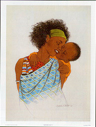 Mother Love III Art Print - Sylvia Walker