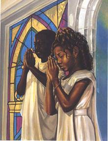Daily Prayer (16 x 12) Art Print - Kevin A. Williams WAK