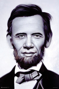Abraham Obama Art Poster