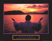 Praise: Preacher Art Print