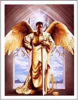 Arch Angel/Guardian Art Print - Edward Clay Wright