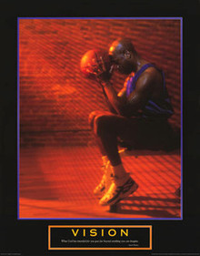 Vision - Basketball Art Poster