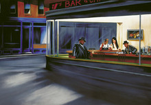 Hip Hop Café Art Print - Jay Martin