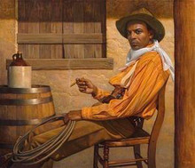 Texas Chillin' - Limited Edition Art - Thomas Blackshear