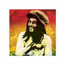 Bob Marley - Colors Art Poster