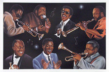 The Greatest of All - Rhythm & Jazz Art Print - Jerome Brown