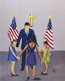 A Family That Prays Together Stays Together - Obama Series