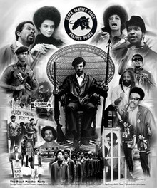 The Black Panther Party Art Print - Wishum Gregory