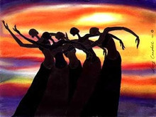 Sun Dancers  Limited Edition Art Print - Leroy Campbell