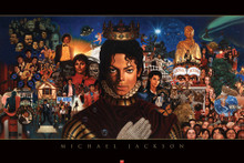Michael Jackson: The King of Pop Art Print  Kadir Nelson