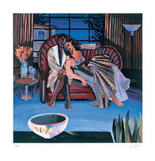 Saturday Night - Limited Edition Art Print - Gigi Boldon
