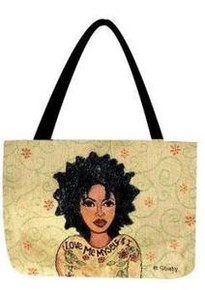 Love Me Myself & I Tapestry Tote Bag