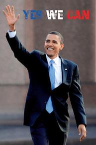 Barack Obama: Yes We Can (36 x 24) Art Print