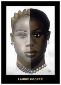 African Mask #25 Magnet