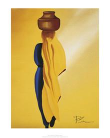 De La Riviere Art Print - Patrick Ciranna