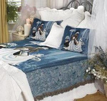 My Cup Runneth Over Bedspread Full Size