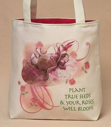 Rose Bloom Tote Bag (Large)