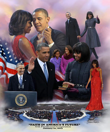 Faith in America's Future: 2013 Obama Inauguration - Wishum Gregory