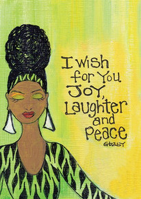 I Wish for you Joy, Laughter and Peace Magnet