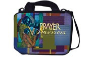 Prayer Warriors Handy Bible Cover-Poncho Brown