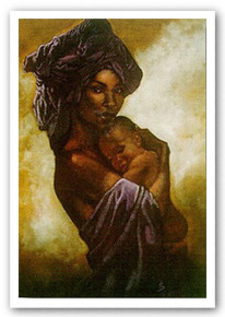 My Child, My Child Art Print - Sherman Edwards