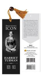 Abolitionist Icon Harriet Tubman Bookmark