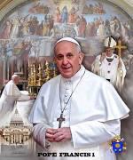 Pope Francis I- Art Print - Wishum Gregory