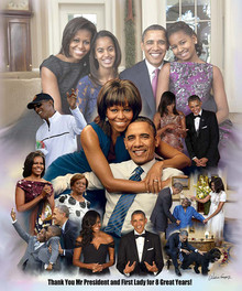 Thank You Mr. President and First Lady for 8 Great Years-- Wishum Gregory