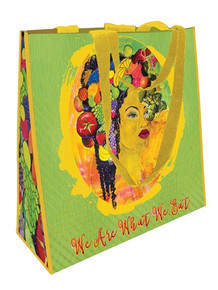 We Are What We Eat ECO Shopping Bag-- GBaby