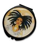 Nubian Queen Pocket Mirror Case  Pocket Mirror Case--GBABY