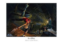 B-Girl (36 x 24) Art Print - David Garibaldi