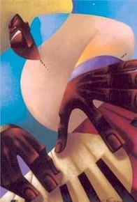 Mr. Tickel Fingers Art Print - Maurice Evans
