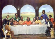 Last Supper Art Print - Ted Ellis