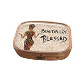 Beautifully Blessed Pill Box Case--Cidne Wallace
