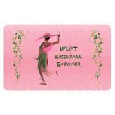 Uplift, Encourage, Empower Floor Mat --Cidne Wallace