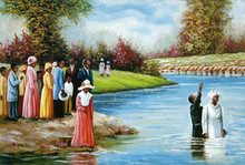 Baptism (24x36) Art Print - Hulis Mavruk