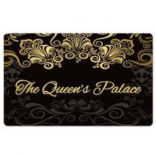 Black The Queen's Palace Interior Floor Mats