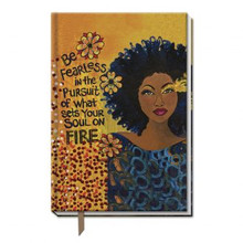 "Soul On Fire  Large Cloth Journal--Sylvia ""GBaby"" Cohen,"