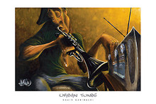 Urban Tunes Art Print - David Garibaldi