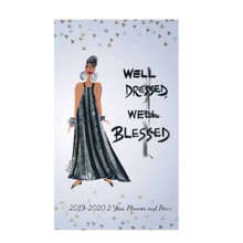Well Dressed, Well Blessed 2019-2020 African American Two Year Planner, Cidne Wallace