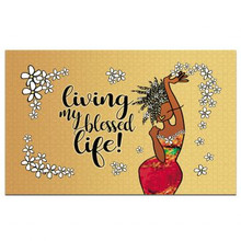 Living My Blessed Life Interior Floor Mats --Kiwi McDowell