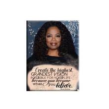 Oprah Winfrey: Black History Series Magnet
