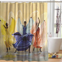 Butterflies Designer Shower Curtain --Lavarne Ross